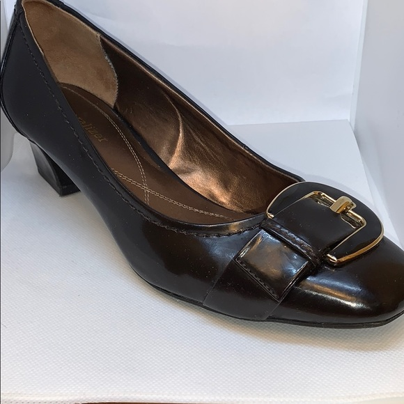 Naturalizer Shoes - Naturalizer Catherine, Oxbrown Patent pumps